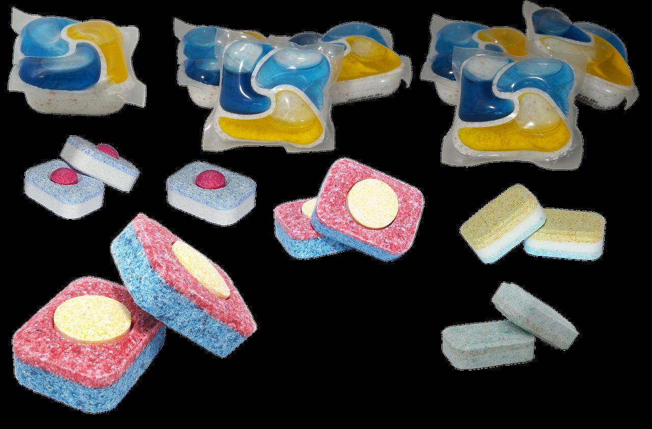 Mosogatógépbe mosogatószer